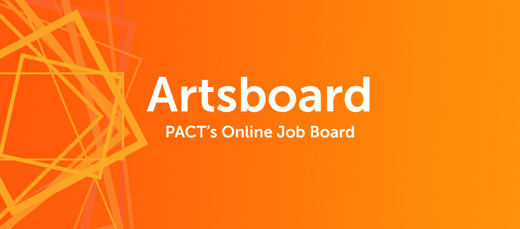 artsboard home page graphic